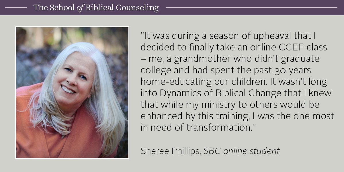 Student Story: Sheree Phillips