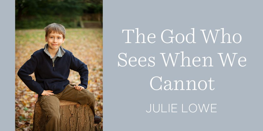 The God Who Sees When We Cannot